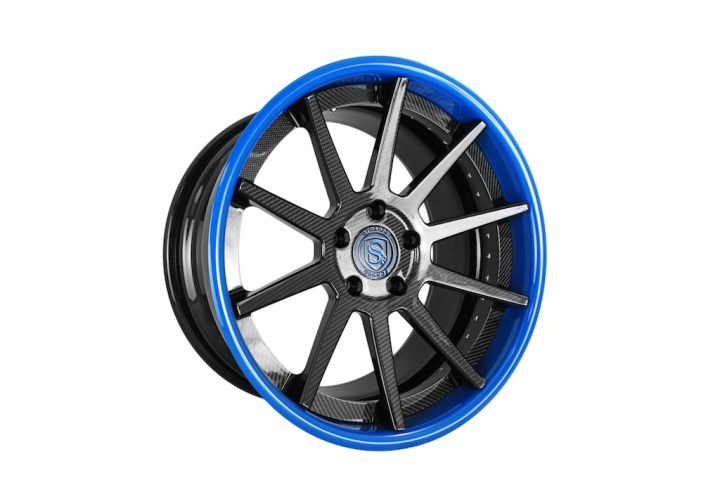 R10 Deep Concave - Carbon Fiber & Laguna Seca Blue 2