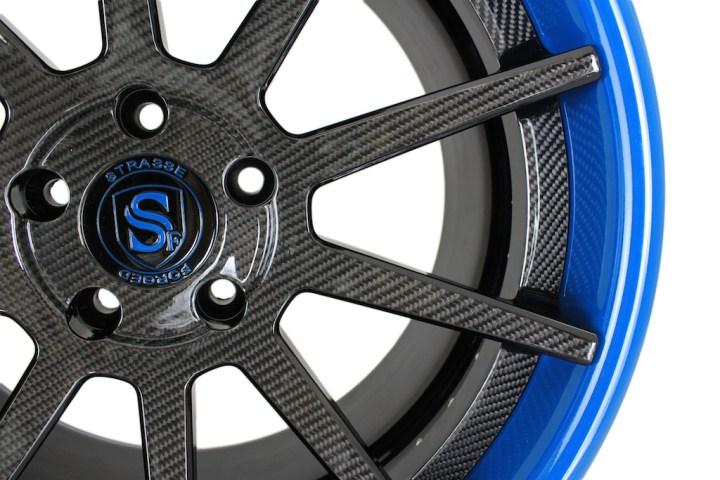 R10 Deep Concave - Carbon Fiber & Laguna Seca Blue 3
