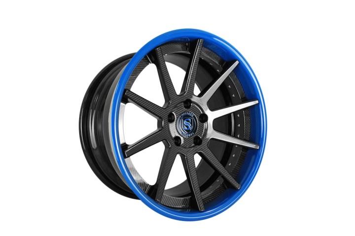 R10 Deep Concave - Carbon Fiber & Laguna Seca Blue 4