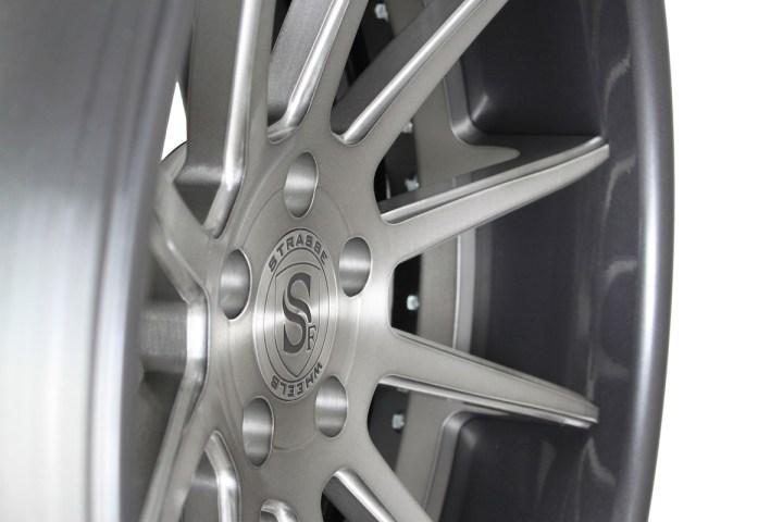 R10 Deep Concave - Gloss Brushed Titanium & Gunmetal 5
