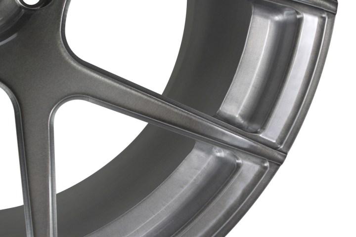 SM5 Deep Concave Monoblock - Gloss Brushed Titanium 3