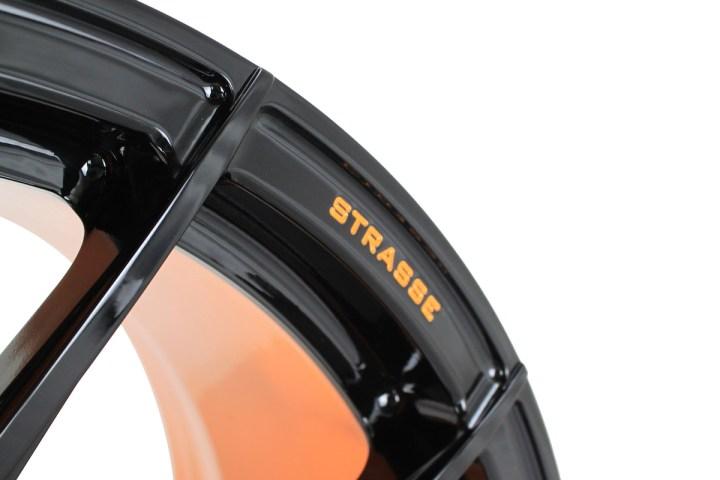 SM5R Deep Concave Monoblock - Gloss Black & Arancio Borealis Barrel 7