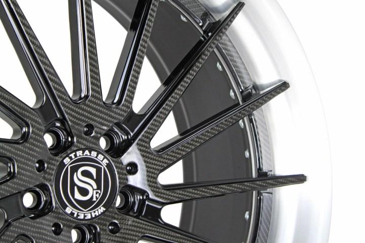 SV15T Deep Concave FS - Carbon Fiber & Brushed 4