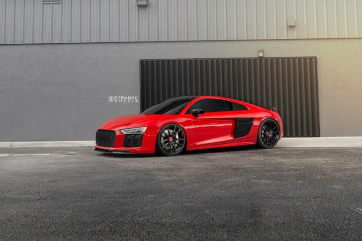 Audi R8 V10 Plus - 20:21 SV1 Deep Concave Monoblock - Carbon 15
