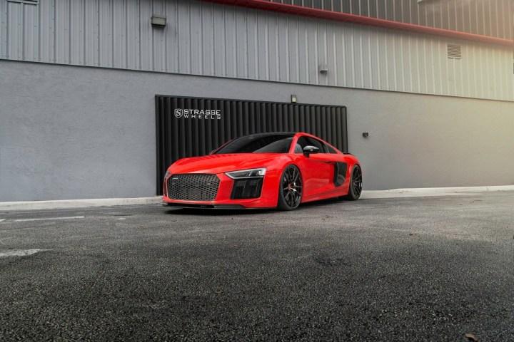 Audi R8 V10 Plus - 20:21 SV1 Deep Concave Monoblock - Carbon 16