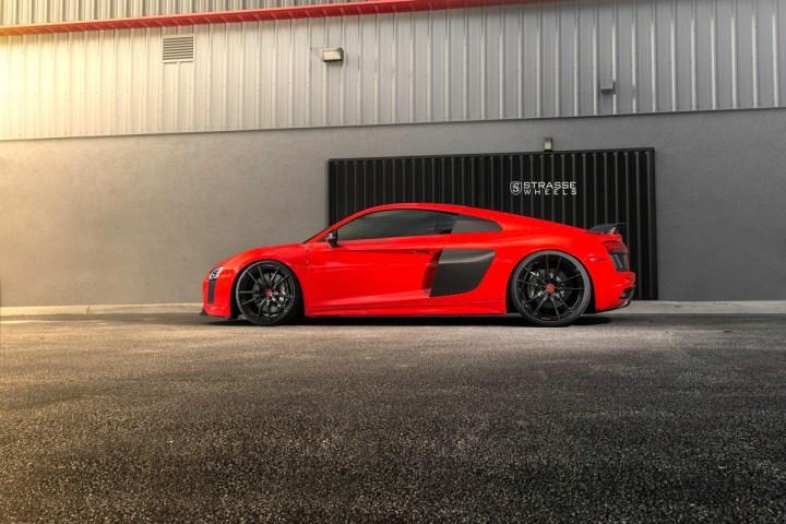 Audi R8 V10 Plus - 20:21 SV1 Deep Concave Monoblock - Carbon 18