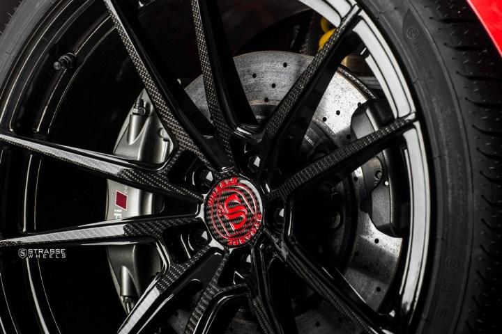 Audi R8 V10 Plus - 20:21 SV1 Deep Concave Monoblock - Carbon 9