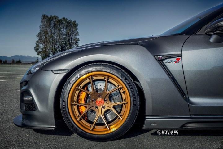 Nissan GT-R - SM5R Deep Concave FS - Ji 8