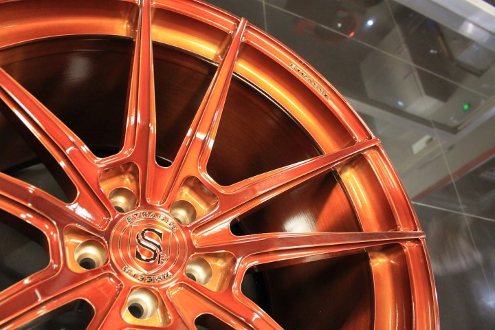 SV1 Deep Concave Monoblock - Gloss Brushed Copper 15