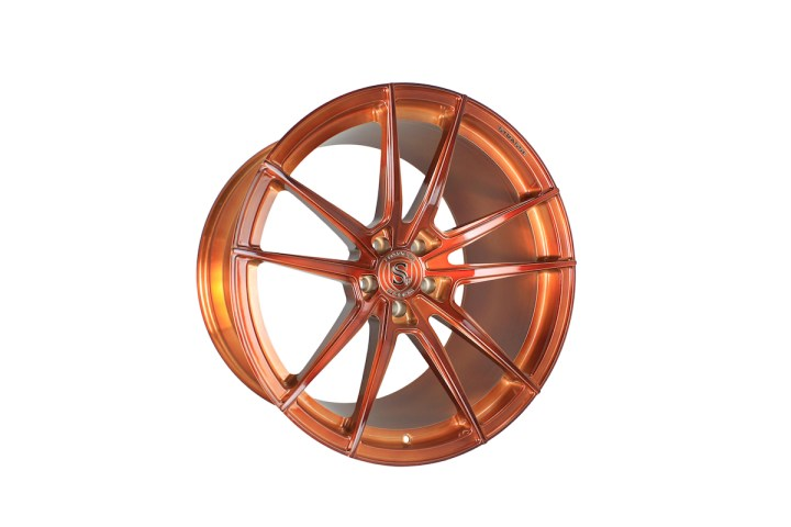 SV1 Deep Concave Monoblock - Gloss Brushed Copper 2