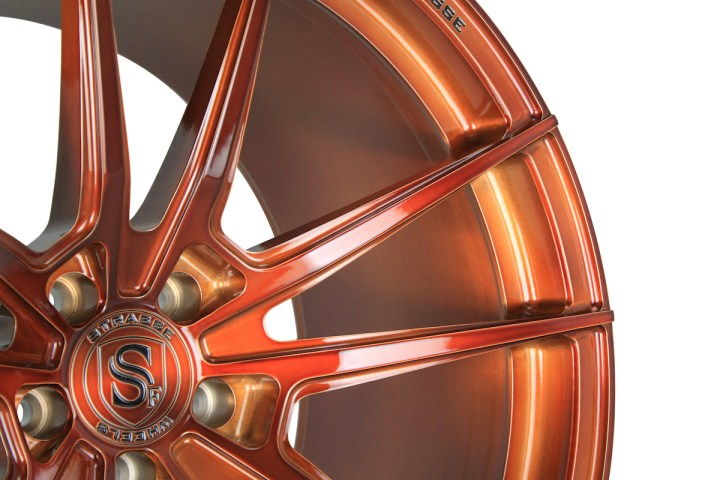 SV1 Deep Concave Monoblock - Gloss Brushed Copper 4