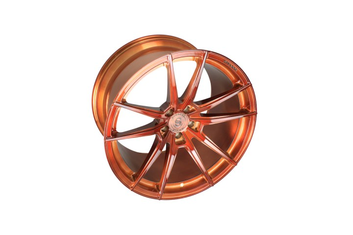 SV1 Deep Concave Monoblock - Gloss Brushed Copper 9