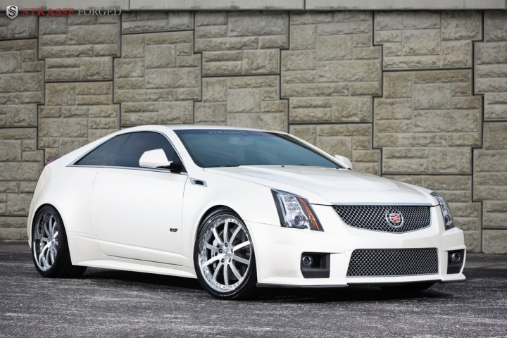 Strasse Forged CTS-V Coupe 4
