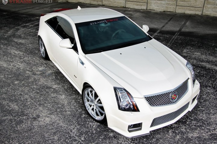 Strasse Forged CTS-V Coupe 5