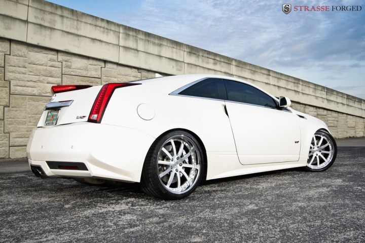 Strasse Forged CTS-V Coupe 7