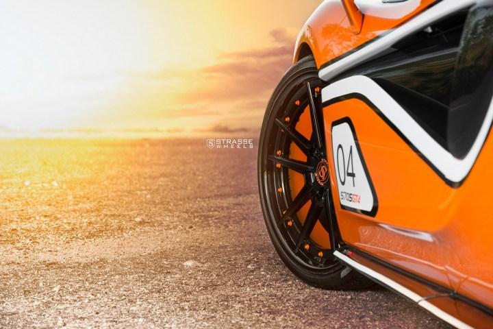 McLaren 570S - 20:21 SV1 Deep Concave FS - Ventura Orange 5