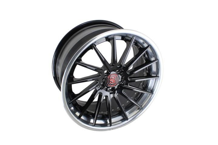 SV15T Deep Concave FS - Gloss Black & High Polish 6