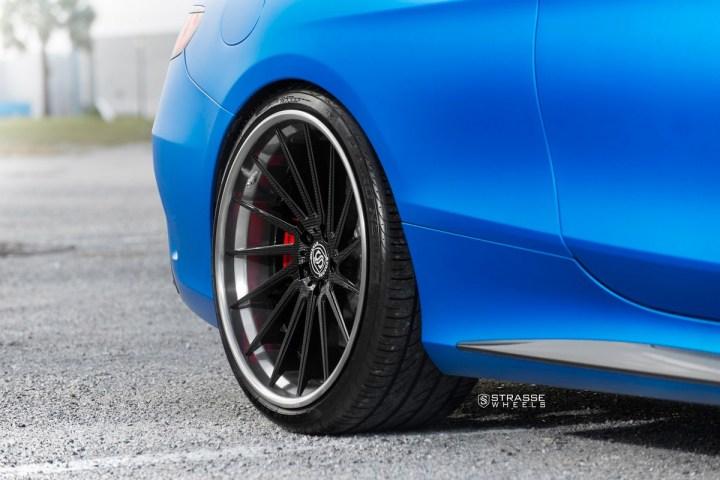 Mercedes Benz S63 AMG Coupe - SV15T Deep Concave FS - Carbon 8