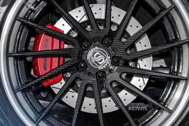 Mercedes Benz S63 AMG Coupe - SV15T Deep Concave FS - Carbon 9
