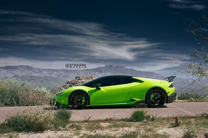 Lamborghini Huracan LP610-4 - 20:21 SM5R Deep Concave Monoblock - Verde Singh 4
