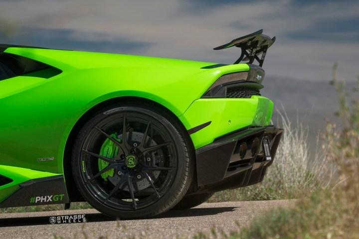 Lamborghini Huracan LP610-4 - 20:21 SM5R Deep Concave Monoblock - Verde Singh 7
