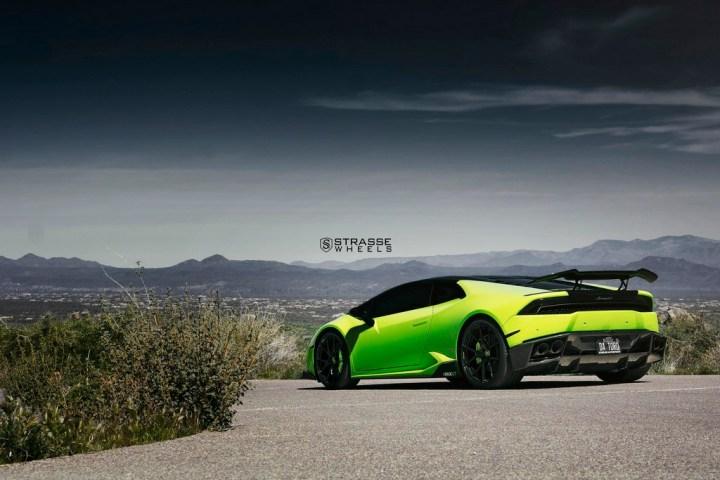 Lamborghini Huracan LP610-4 - 20:21 SM5R Deep Concave Monoblock - Verde Singh 9