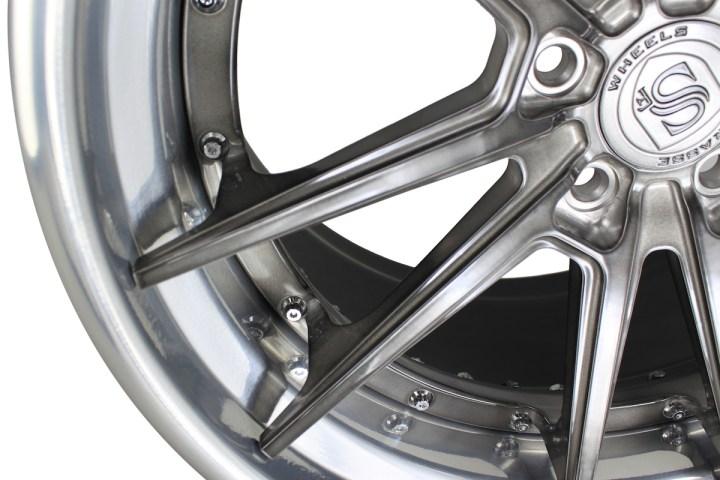 SV1 Deep Concave FS - Gloss Brushed Titanium & High Polish 7