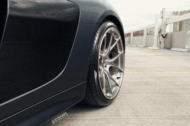 Audi R8 V10 Spyder - 20:21 SM5R Deep Concave Monoblock 14