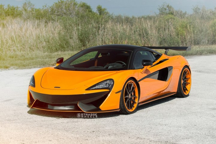 McLaren 570S - 20:21 SV1 Deep Concave FS - Orange 1