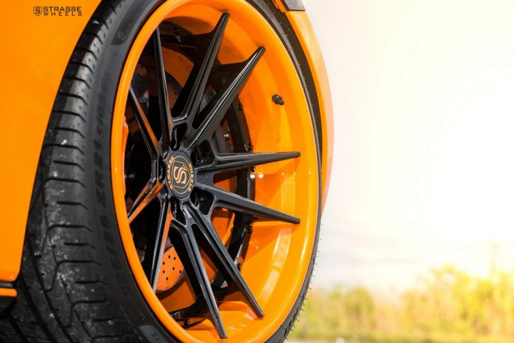 McLaren 570S - 20:21 SV1 Deep Concave FS - Orange 13