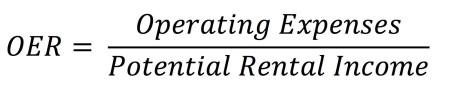Operating Expense Ratio (OER) Formula JPG