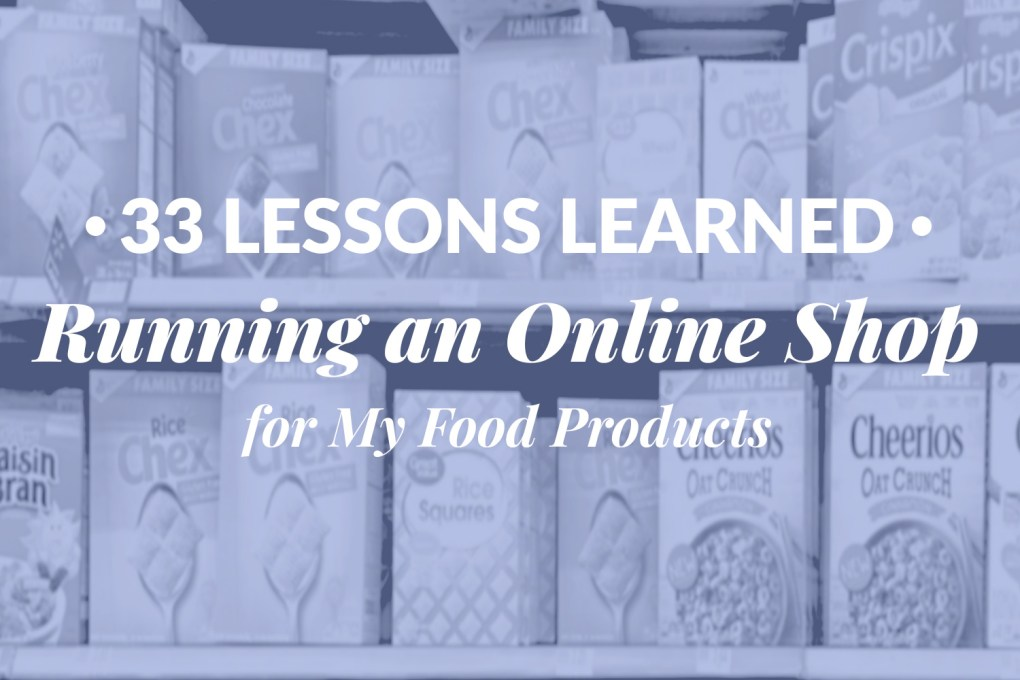 running online shop food