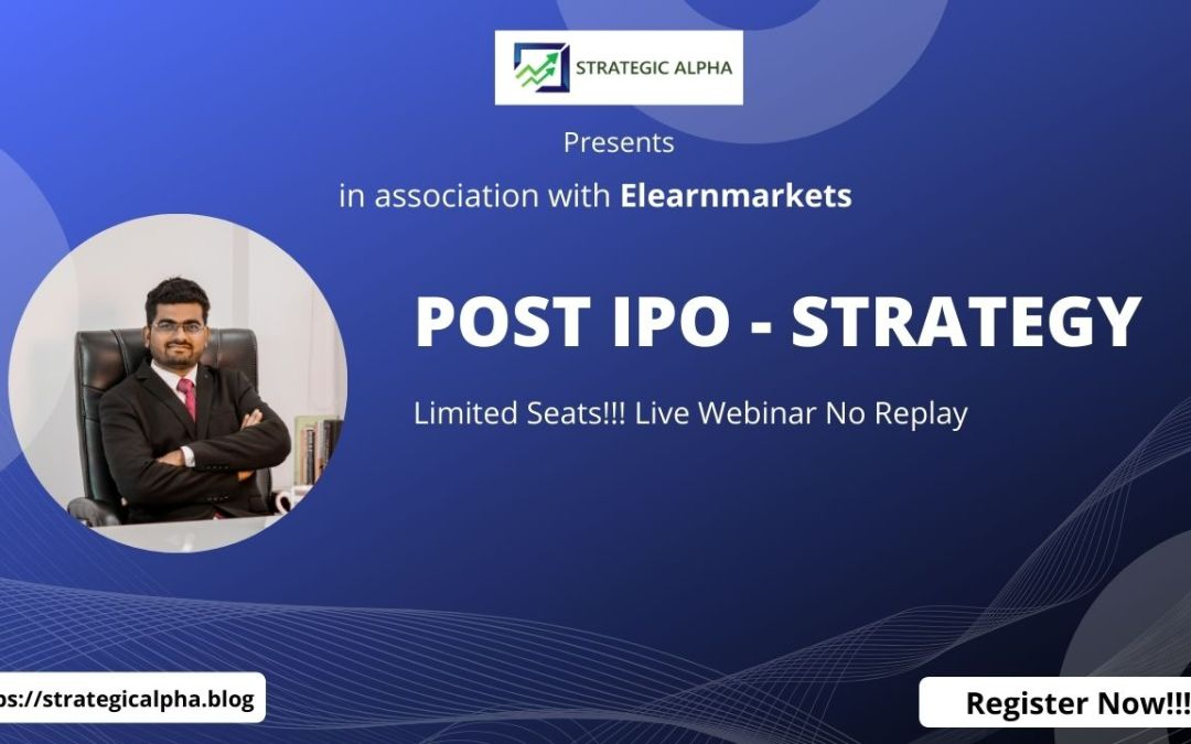 POST IPO – STRATEGY
