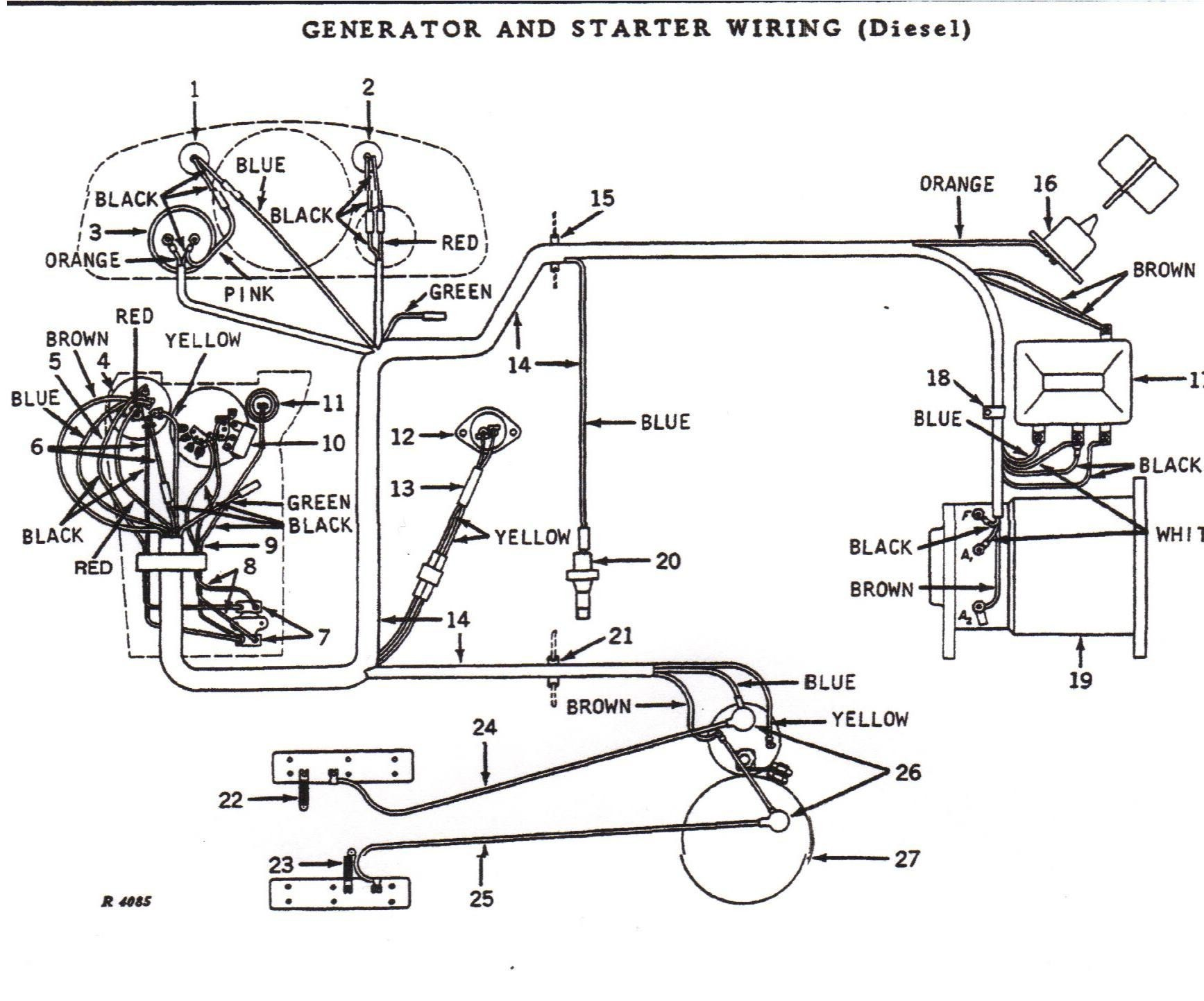 John Deere 165 Wiring Diagram - Wiring Diagrams Hidden on