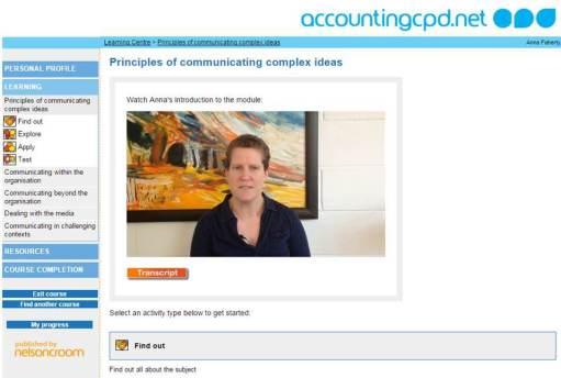Communicating Complex Ideas course