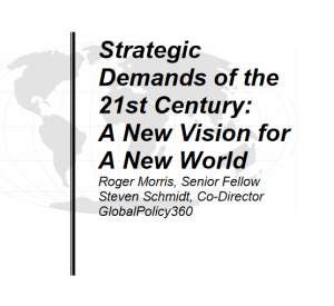 Strategic Demands of the 21st Century_A New Vision for a New World