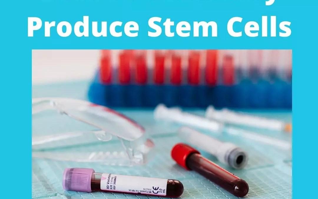 Naturally Produce Regenerate Stem Cells