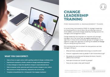 CHANGE LEADERSHIP TRAINING