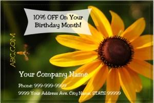 Postcard Marketing Postcard Example