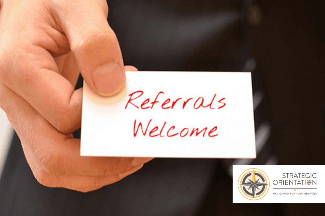 Referrals Welcome