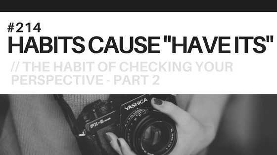 A woman with a camera, symbolizing perspective, the subject of this blog post.