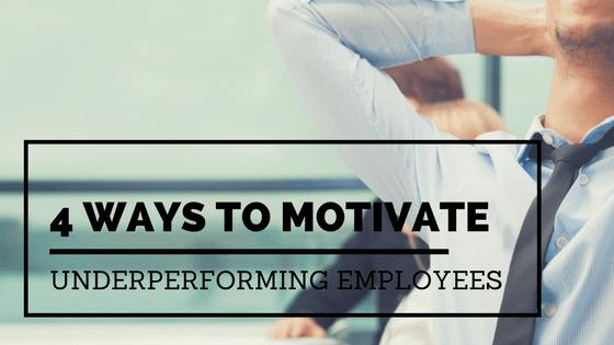Underperforming employee