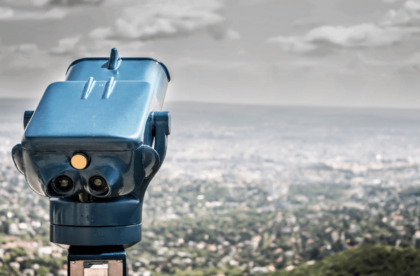 A tower viewer that represents perspective and opinions