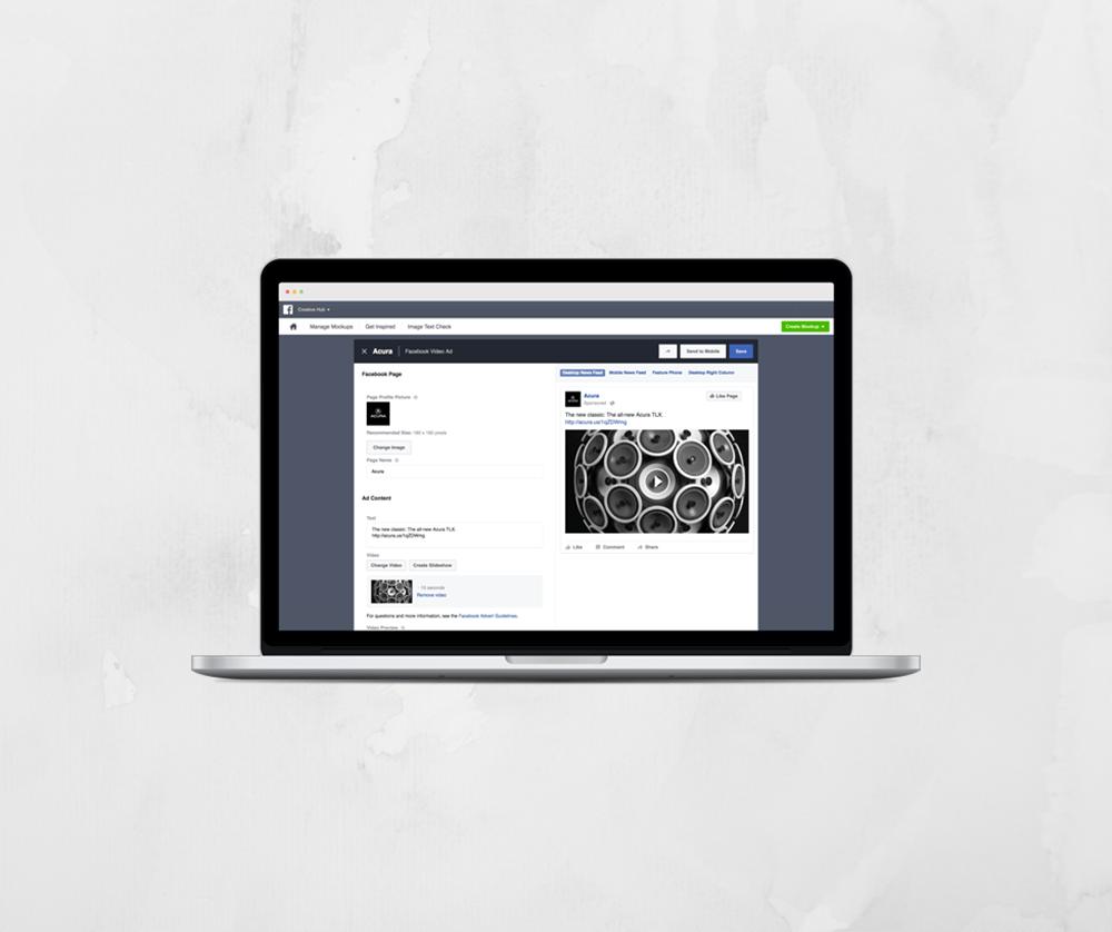 Facebook lance le Creative Hub