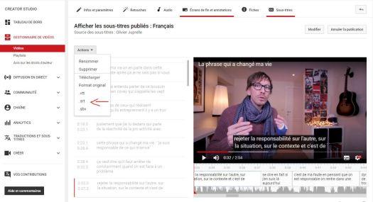 Comment sous titrer une vidéo