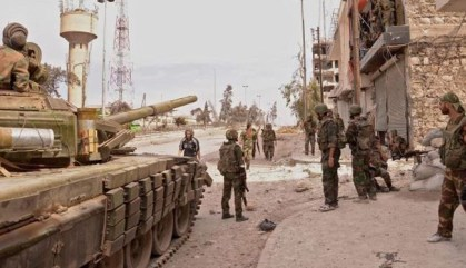 Syria army makes more gains in north Aleppo
