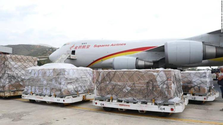China sends Fourth Humanitarian Shipment to Venezuela 2