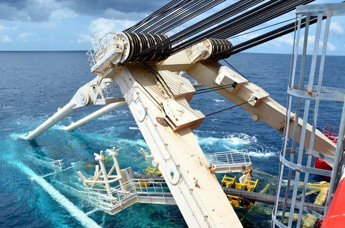 offshore pipeline construction