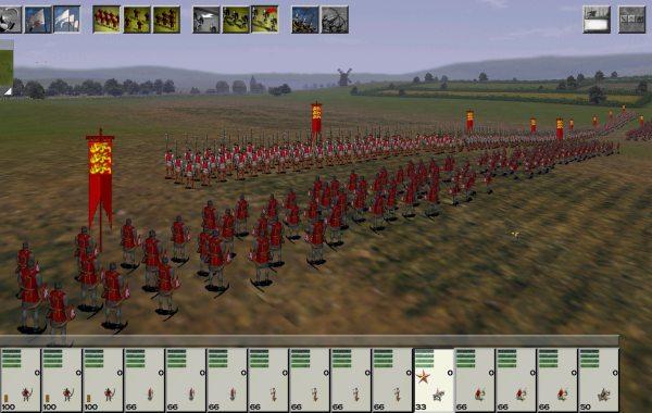 Medieval Total War battle
