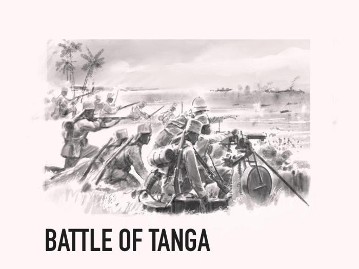 David Pentland - Battle of Tanga